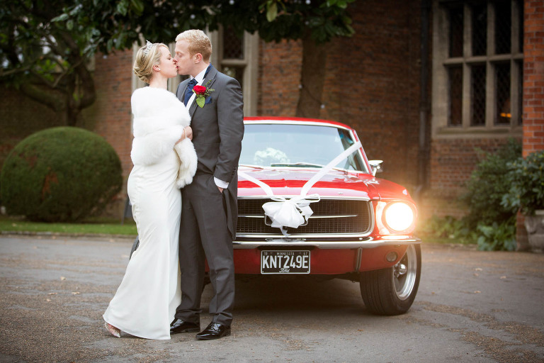 Raff and Tori's Great Fosters Wedding