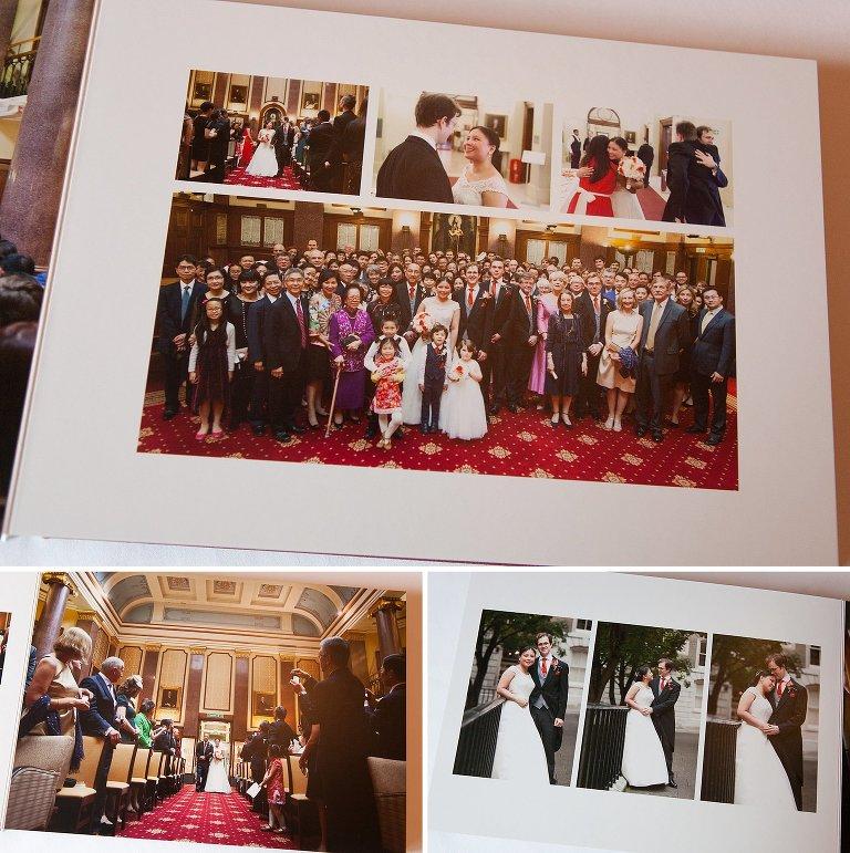 London Wedding Album