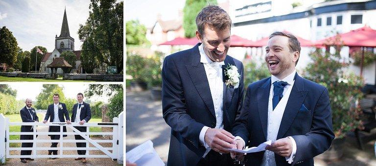 Brockham Green Wedding