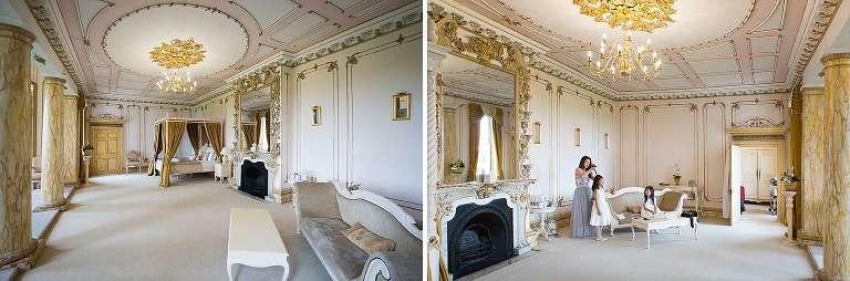 Gosfield Hall bridal suite