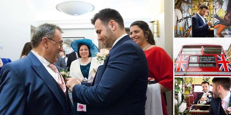 Mayfair and Knightsbridge Wedding