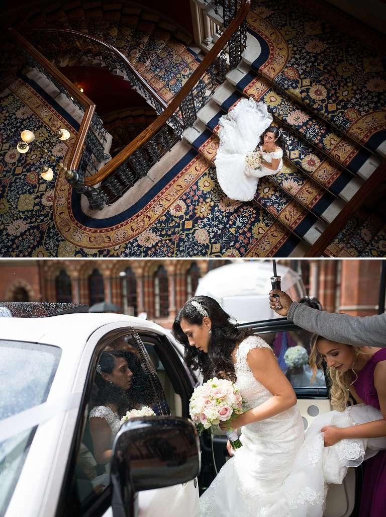 St Pancras Renaissance Hotel Wedding Photographer