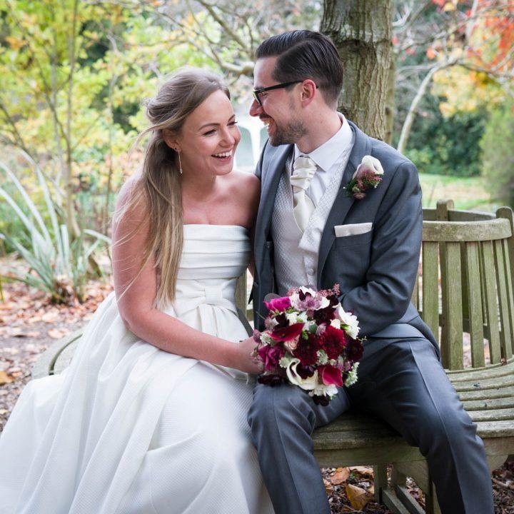 Laura and Adam's Wasing Park Wedding